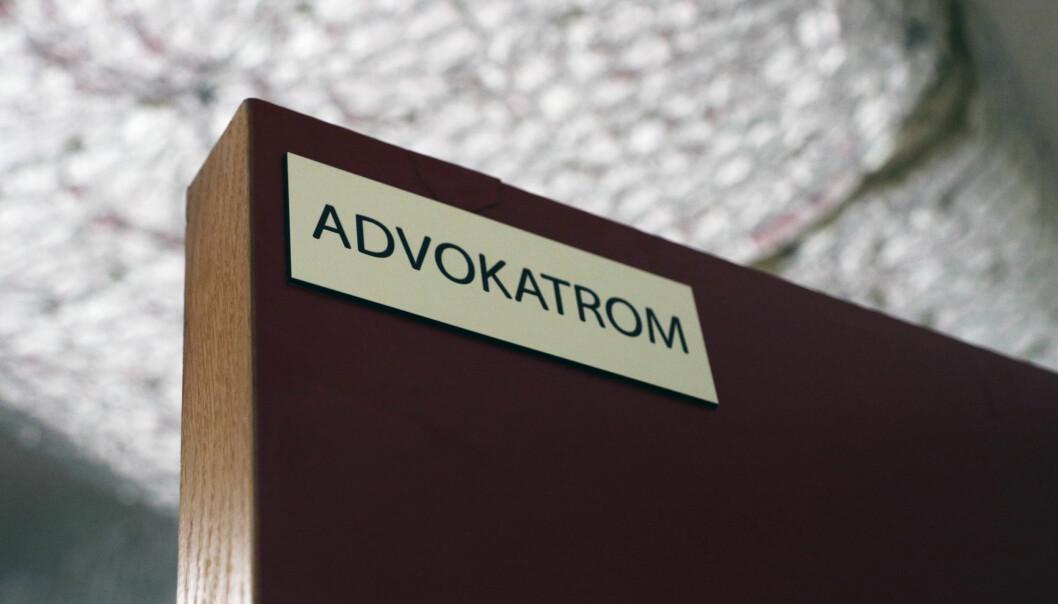 På Trandum er det to «advokatrom» som er tilgjengelig hele døgnet.