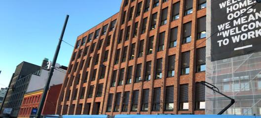 Samler Oslos 3400 jusstudenter i splitter nytt bygg