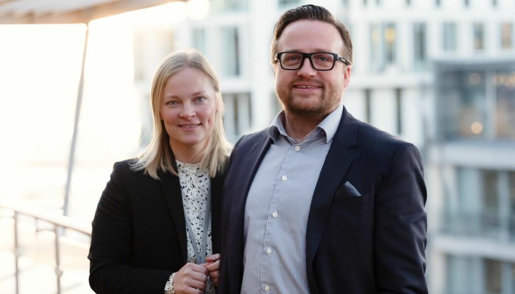 Madeleine Bråthen Bjaaland og Jørgen Aardalsbakke er Grette-advokatene bak Entreprisepodden.
