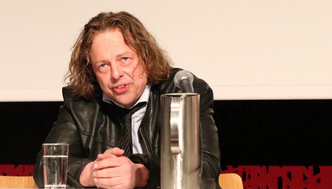Advokat Arne Seland fotografert da han satt i panelet i en MeToo-debatt på Litteraturhuset i 2018.