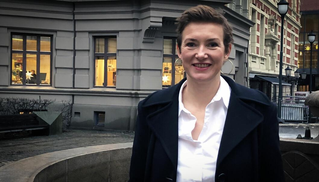 Veldig hyggelig at kvinner er på fremmarsj innen prosedyrefaget, mener Anette Fjeld, partner i Deloitte.