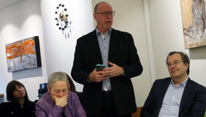 Fra v. Elin Helen Kvalvik Utvik, Anne Margrethe Lund, Bjørnar Stokkan og Anders Brosveet.