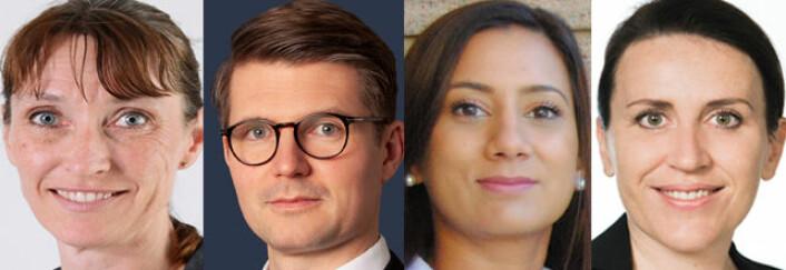 Cathrine Murstad, Holm Grimsrud, Rachna Rohatgi Khan og Siri Beskiotis Horn.