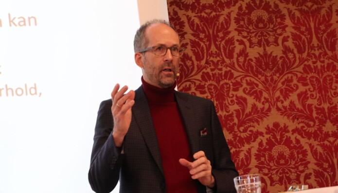 Jan Fougner er flere ganger blitt kåret til landets fremste advokat innen arbeidsrett. Han var imponert over det gode oppmøtet på konferansen i Sandefjord.