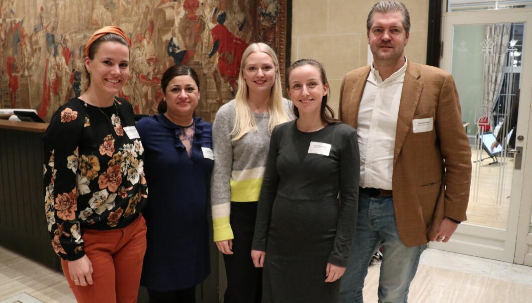 Advokatfirmaet Deloitte stilte med Emilie Rodahl Torkelsen, Avesta Gåskjønli, Live Marie Bjønnes-Jacobsen, Tonje Ruderaas og Thomas Talén.