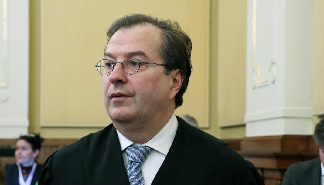 Anders Brosveet representerte en av klientene som ble uriktig domfelt for trygdebedrageri.