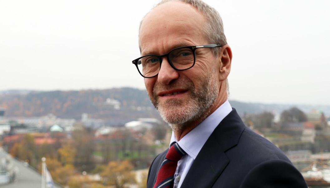 Finn Bjørnstad, managing partner i Wikborg Rein, kan se tilbake på et godt år i 2019 for firmaet.