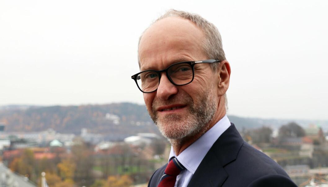 Finn Bjørnstad, managing partner i Wikborg Rein.