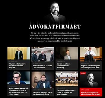 VG har skrevet en rekke artikler om advokatfirmaet Rogstad.