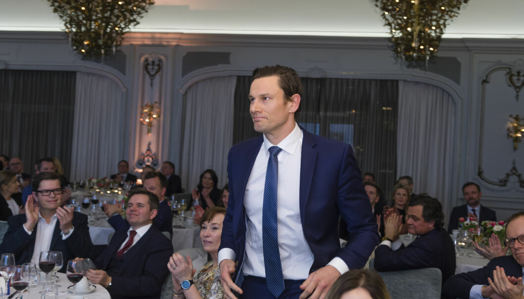 Wikborg Rein-styreleder Geir Sviggum ble kåret til årets internasjonale advokat.