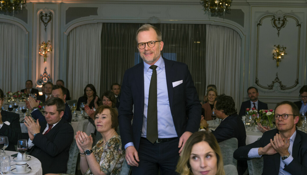 Lars Berge Andersen fra SANDS vant kategorien offshore og oljeservice.