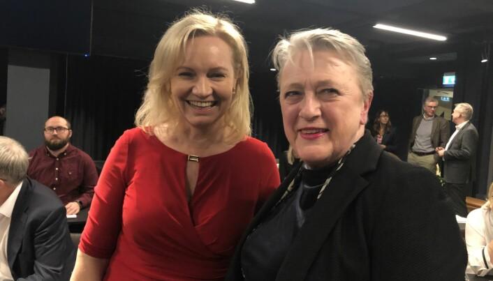 Høyesterettsdommer Cecilie Østensen Berglund og advokat Berit Reiss-Andersen.