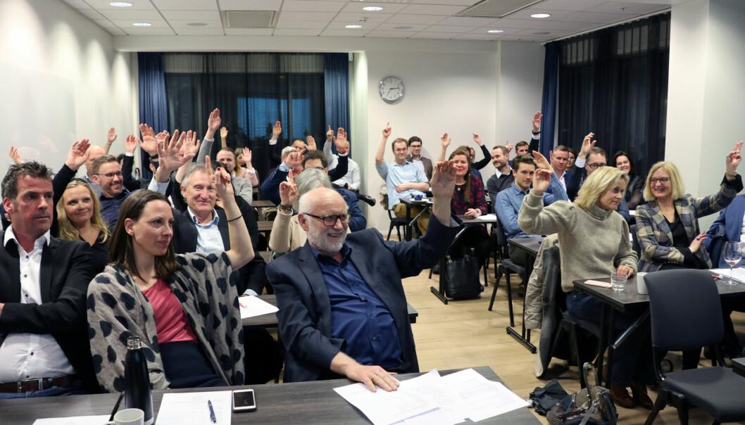 Stort engasjement da Advokatforeningen Sør Rogaland krets arrangerte årsmøte.