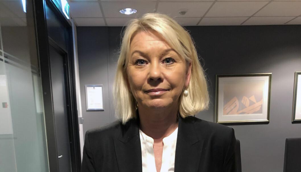 Monica Mæland presenterte i dag forslag til ny domstolstruktur.