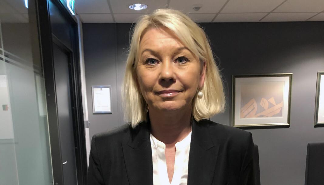 Justisminister Monica Mæland har ikke lagt noen ekstra kroner i potten til advokatenes salær.