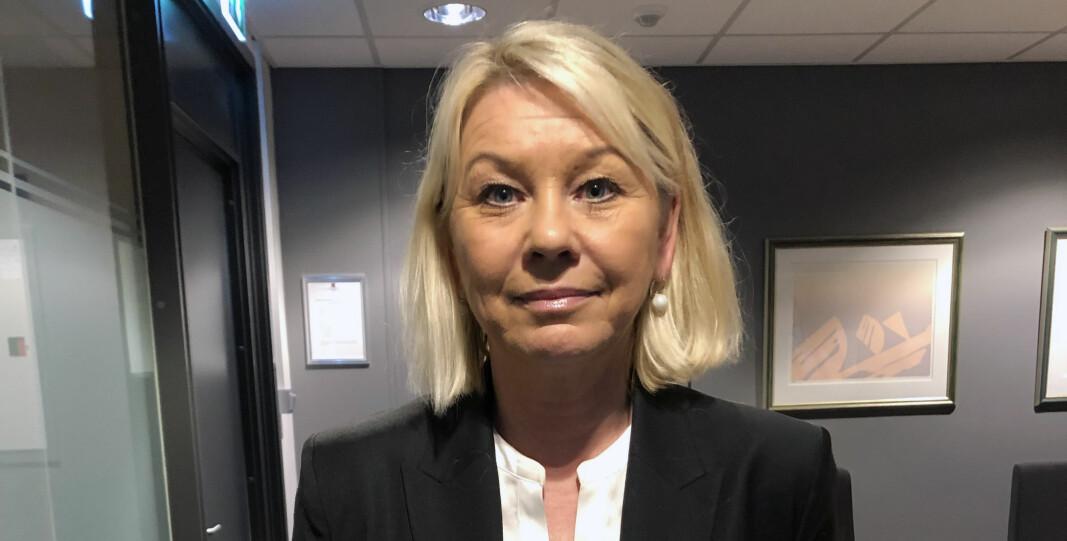 Justisdepartementet foreslår flere nye lovendringer. Her justisminister Monica Mæland.