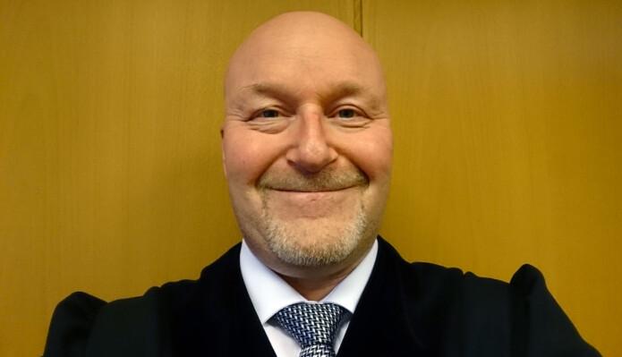 Frank Kjetil Olsen, sorenskriver i Senja tingrett.