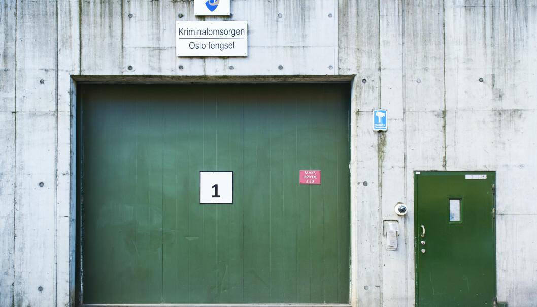 Fra og med i dag, får innsatte i fengslene ikke lenger lov til å ta imot besøk.
