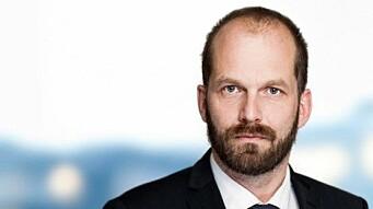 Gisle E. Årnes jobber med teknologi i Sands.