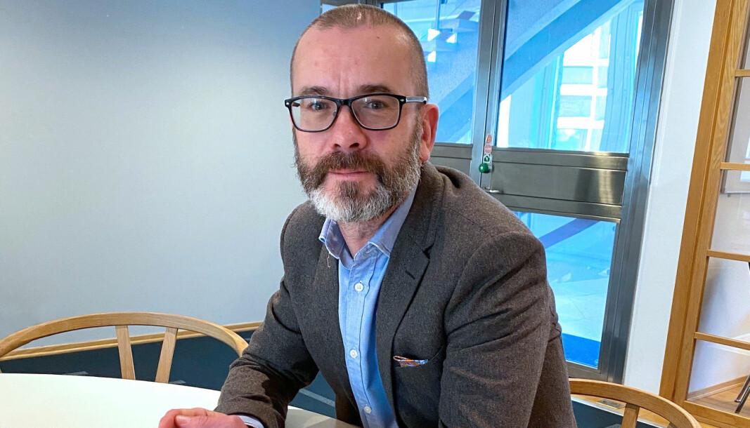 Managing partner Håvard Sandnes i Arntzen de Besche.