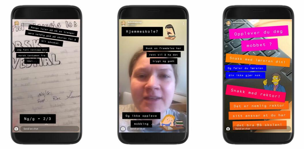 Snapchatene publisert av Ingrid Lauvås genererer mange spørsmål fra hennes unge følgere.