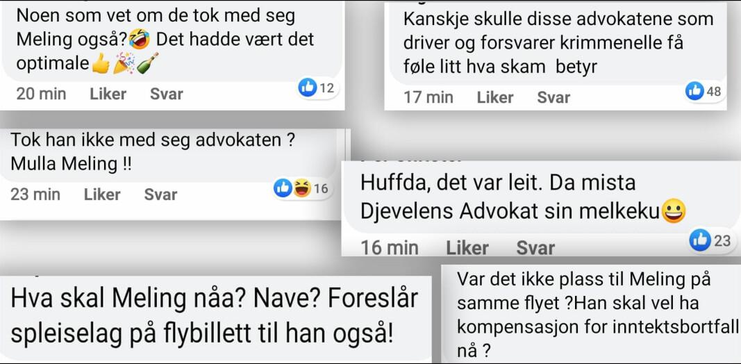 Advokat Brynjar Meling sjikaneres på Facebook.