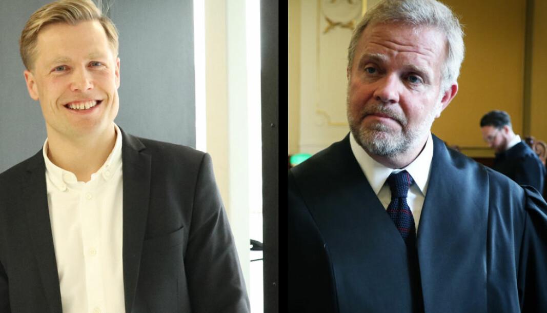 Rune Opdahl og Jon Wessel-Aas har ulike syn på Folkehelseinstituttets nye smittesporingapp.