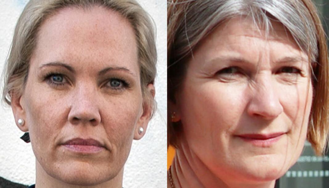 Maria Hessen Jacobsen og Else Leona McClimans.