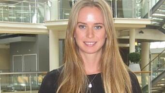 Christine Taaje, er nyvalgt leder i YA. Hun er advokatfullmektig i Ernst & Young advokatfirma i Oslo.