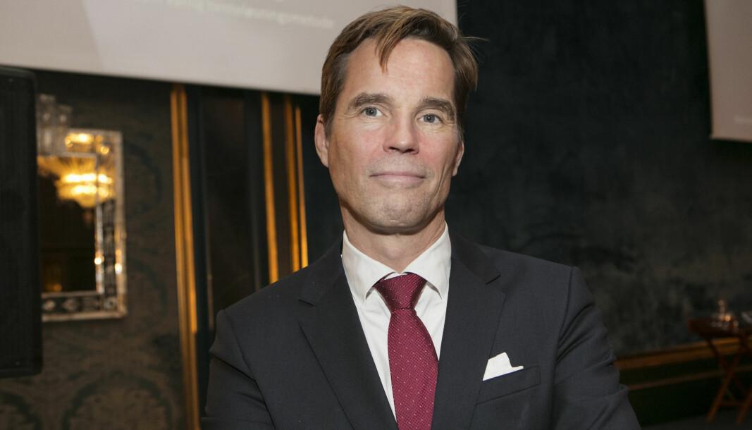 - Det er ikke noe som heter midlertidig lov i Norge, sier Marius Dietrichson.