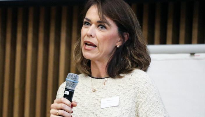 Marijana Lozic jobber som forsvarer i straffesaker og også med barnevernssaker. Her fra Forsvarerseminaret i 2019, der hun holdt foredrag om unge lovbrytere og straff.