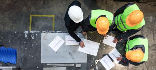 Ber om 40 millioner kroner til mekling i bygg- og anleggbransjen