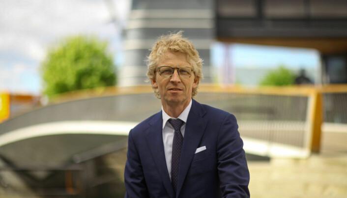 Managing partner Jacob S. Bjønnes-Jacobsen gleder seg over å ha nye tilskudd på plass.