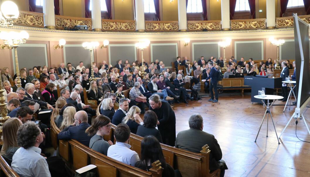 I mars ble Meklingskonferansen arrangert i Gamle festsal i Oslo