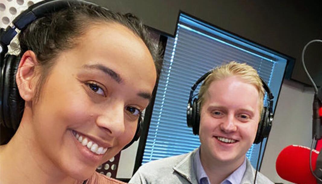 Gita Simonsen og Carl Victor Waldenstrøm leder SANDS ferske podkast.