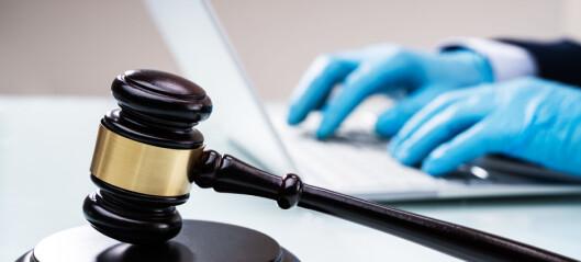 Arbeidsgruppe skal kartlegge korona-konsekvenser for straffesakskjeden
