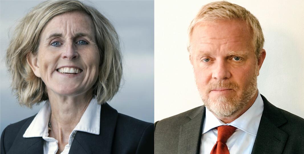 Kristin Veierød og Jon Wessel-Aas er begge foreslått som ny leder av Advokatforeningen.