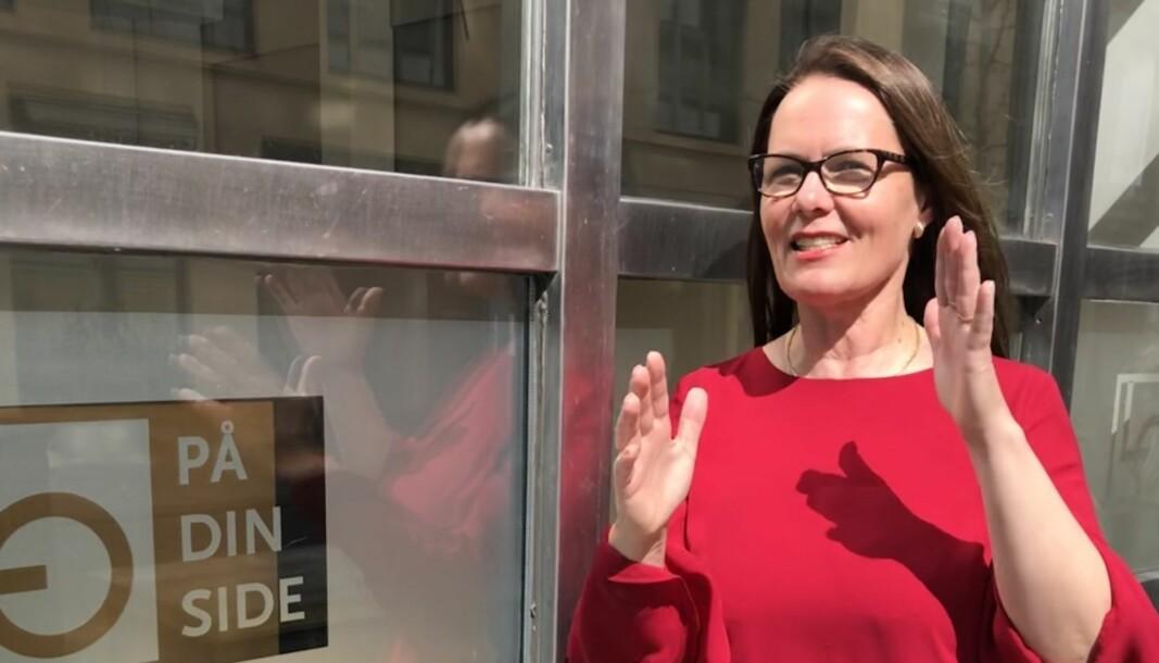 Krisen utløste et stort behov for informasjon, forteller advokat Anne-Lise H. Rolland.