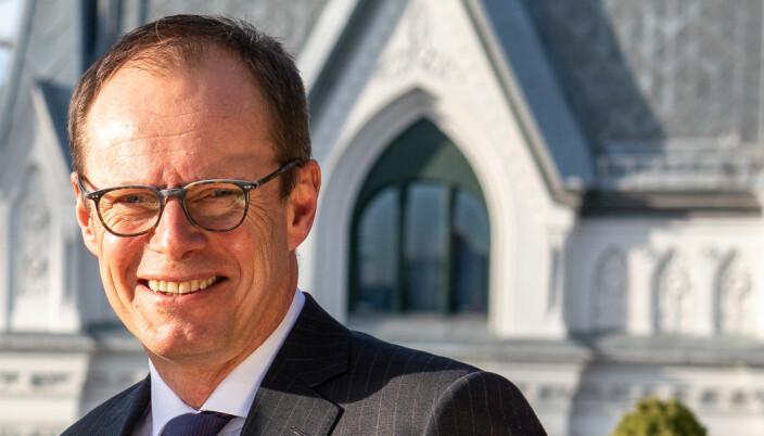 Marius L. Andersen er managing partner i Kvale, et av advokatfirmaene med høyest kvinneandel i partnerskapet.