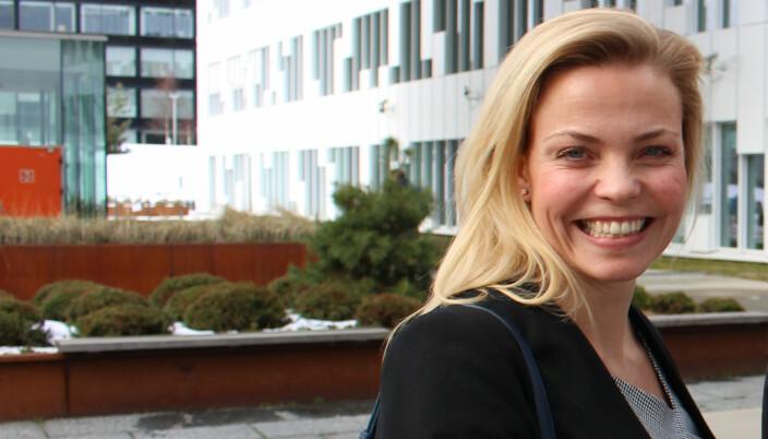 Kristine Hasle Øverby kjenner seg ikke igjen i problematikken som gjelder barn og timekrav.