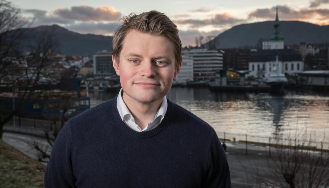 - Regjeringen kommer til å fremme saken for Stortinget i inneværende periode, sier Peter Frølich (H).