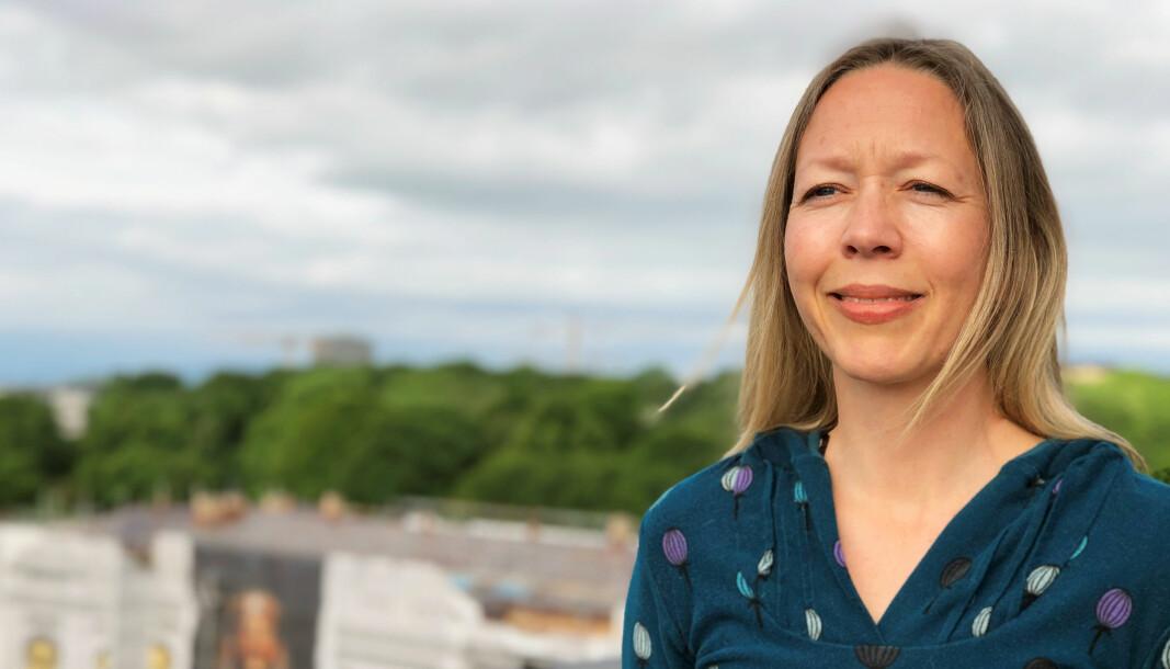 Professor Kristin Bergtora Sandvik.