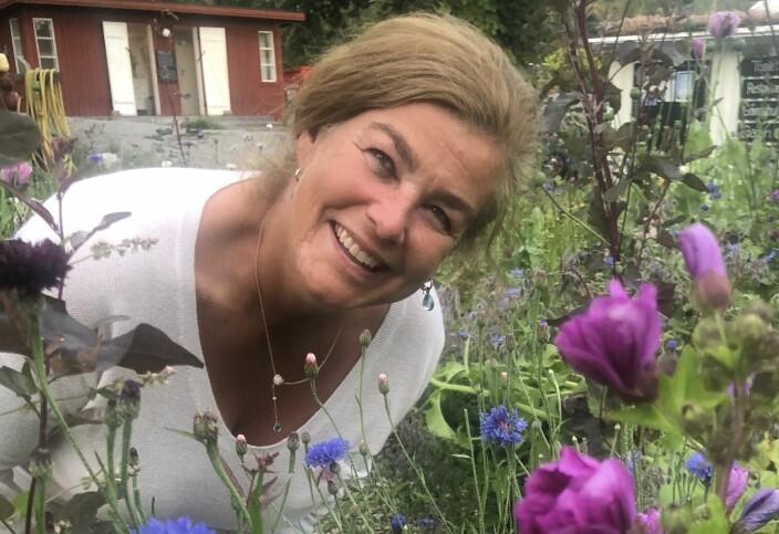 Inger Roll-Matthiesen tilbringer somrene på Syd-Koster i Sverige.