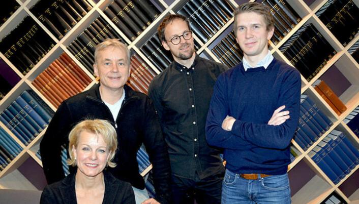 Didrik Beck Rodarte arbeidet tidligere som jurist i Advokatforeningen, her med Knut Storberget, Martin Kaasgaard Nielsen og Merete Smith.