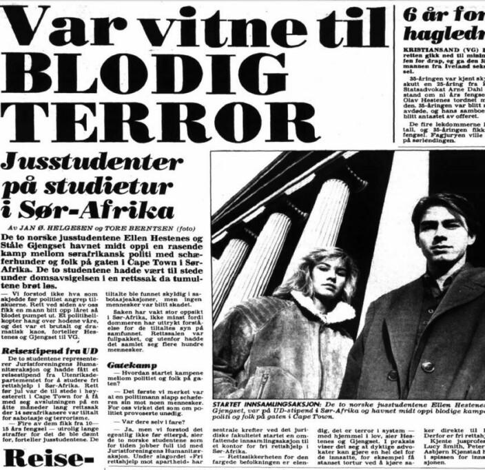 Det hele startet i 1989, da ledelsens studietur til Sør-Afrika ble noe mer dramatisk enn planlagt.