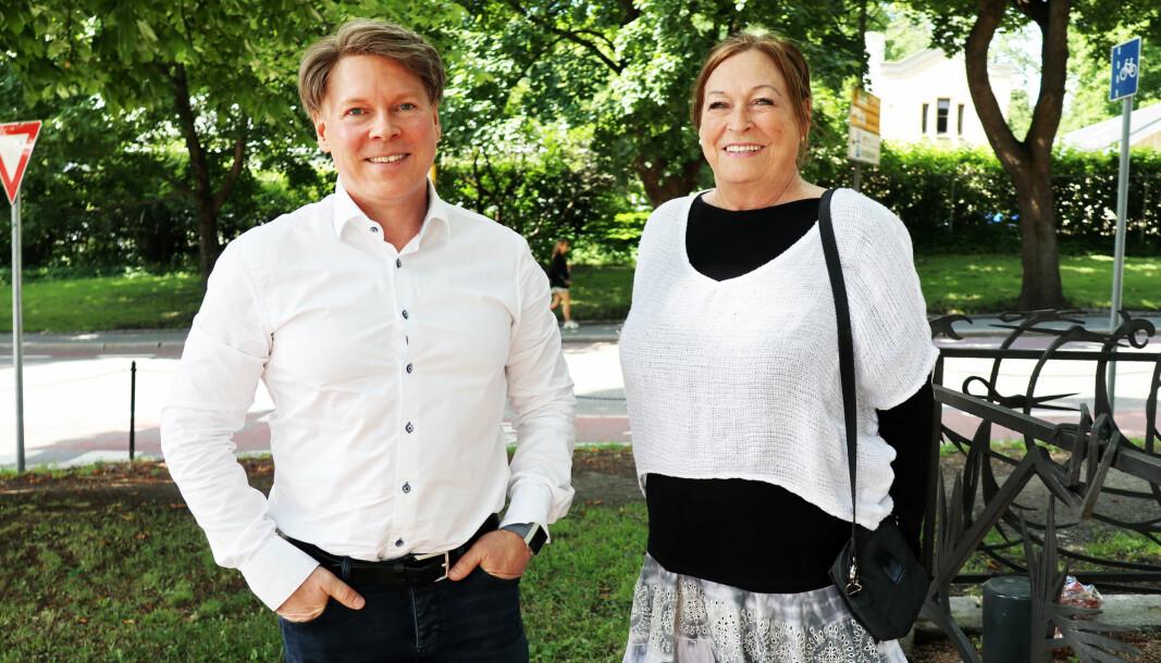 Mange advokater og andre fagpersoner har tatt i bruk Personskade portalen, forteller Morten og Anne Grethe Kjelland.
