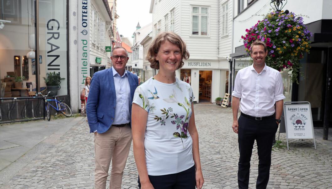 Audun Stornes, June Snemyr og Jone Stakkestad er alle nye advokater i Stavanger.