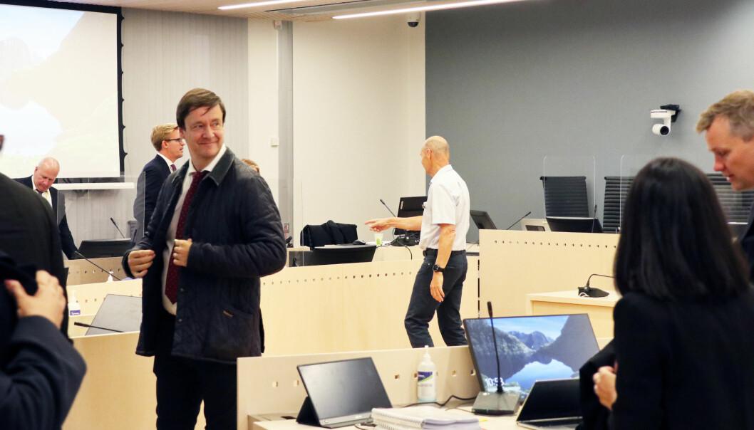 John Christian Elden forsvarer Laila Bertheussen i saken som skal gå i over to måneder i Oslo tingrett denne høsten.