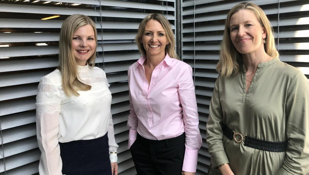 – Det er mange nye aktører som leter etter gode investeringsmuligheter innenfor grønn energi og energieffektivisering, sier partnerne Camilla Grytten, Siv Madland og Eeva Kantanen.