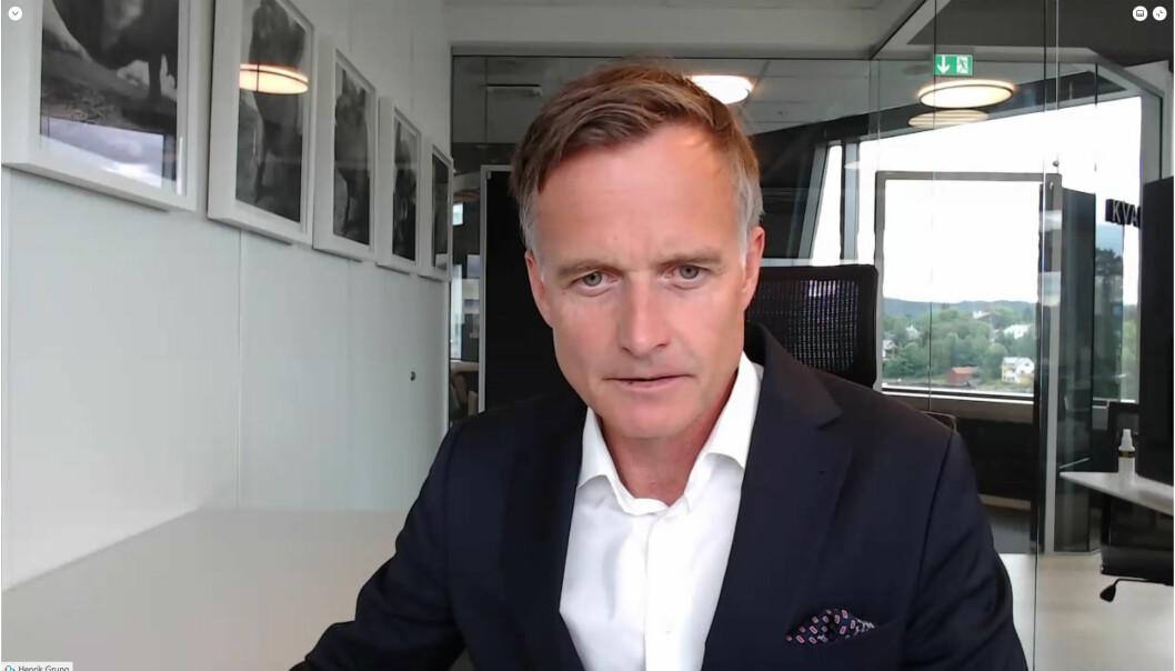 – Vi har hatt et spennende samarbeid med ambassaden over flere år. Det er mange synergier mellom dansk og norsk næringsliv, sier advokat Henrik Grung i Kvale.